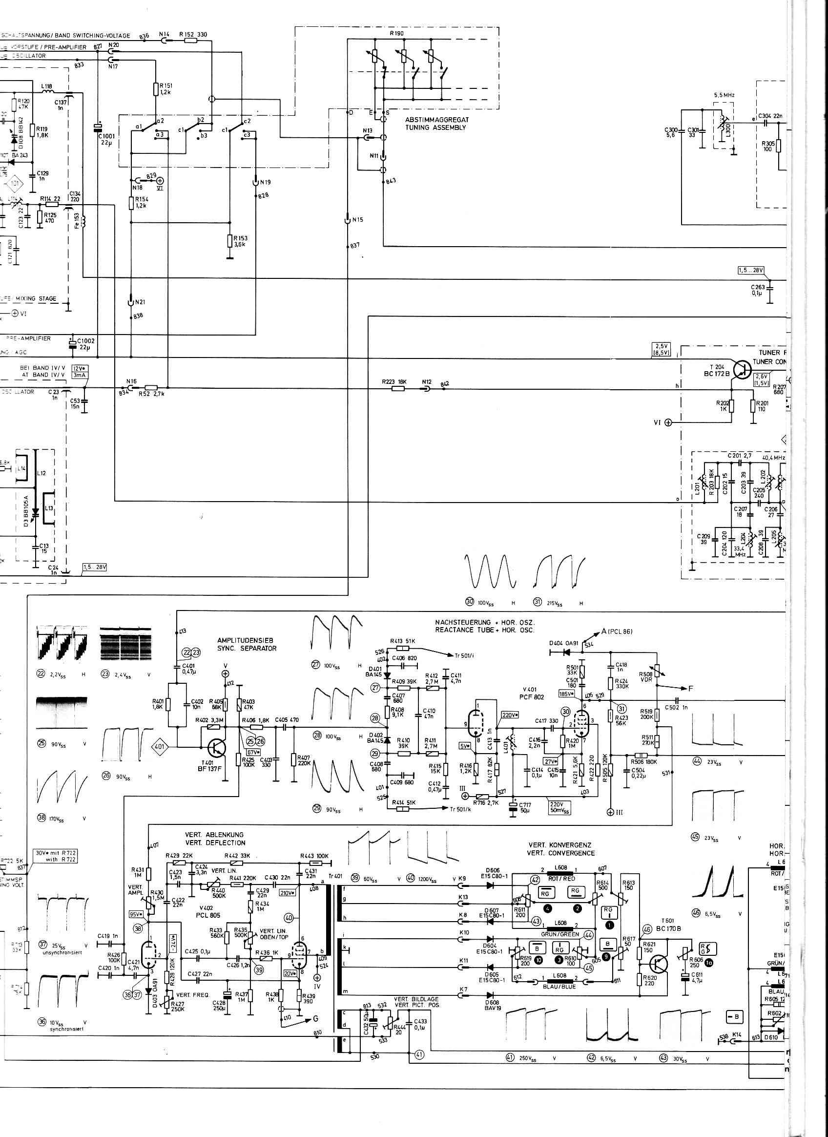 Tolle Sony Tv Schaltplan Zeitgenössisch - Schaltplan Serie Circuit ...