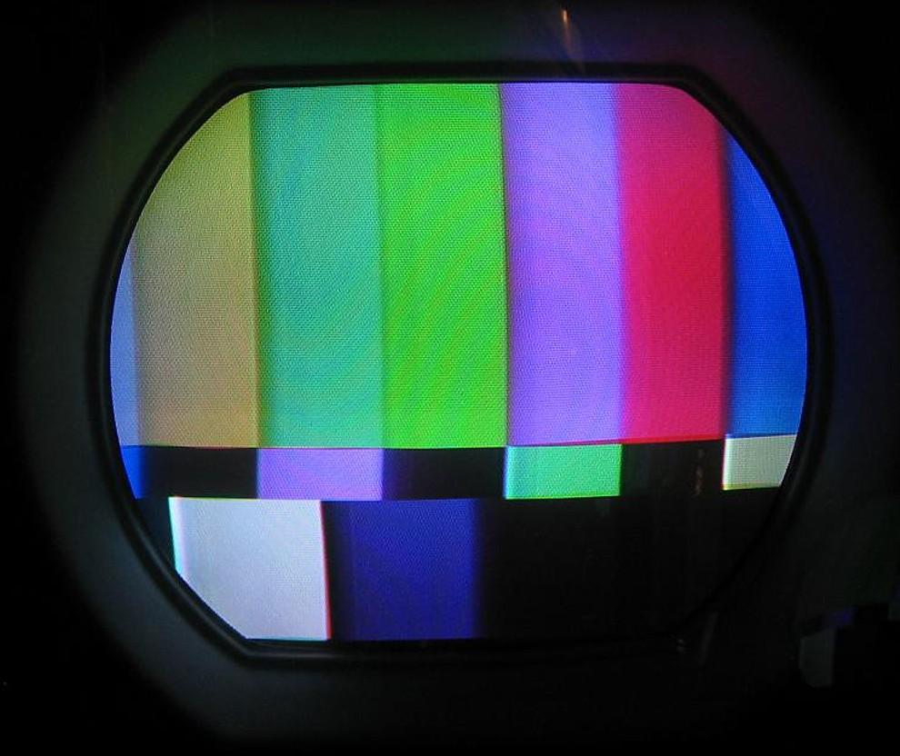 Dokumentation  Hoffman Colorcaster M4021a Von 1955