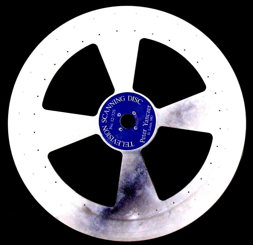 Dokumentation: Mechanischer 32-Zeilen Fernseher (System Nipkow) wie 1930