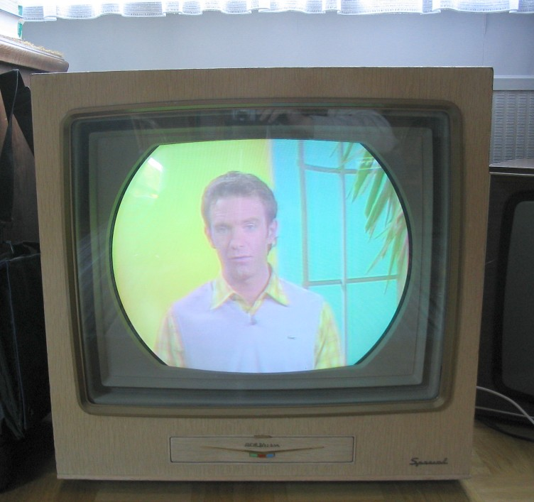 "Documentation: RCA Color TV Set 21-CT-7855U ""The Aldrich"