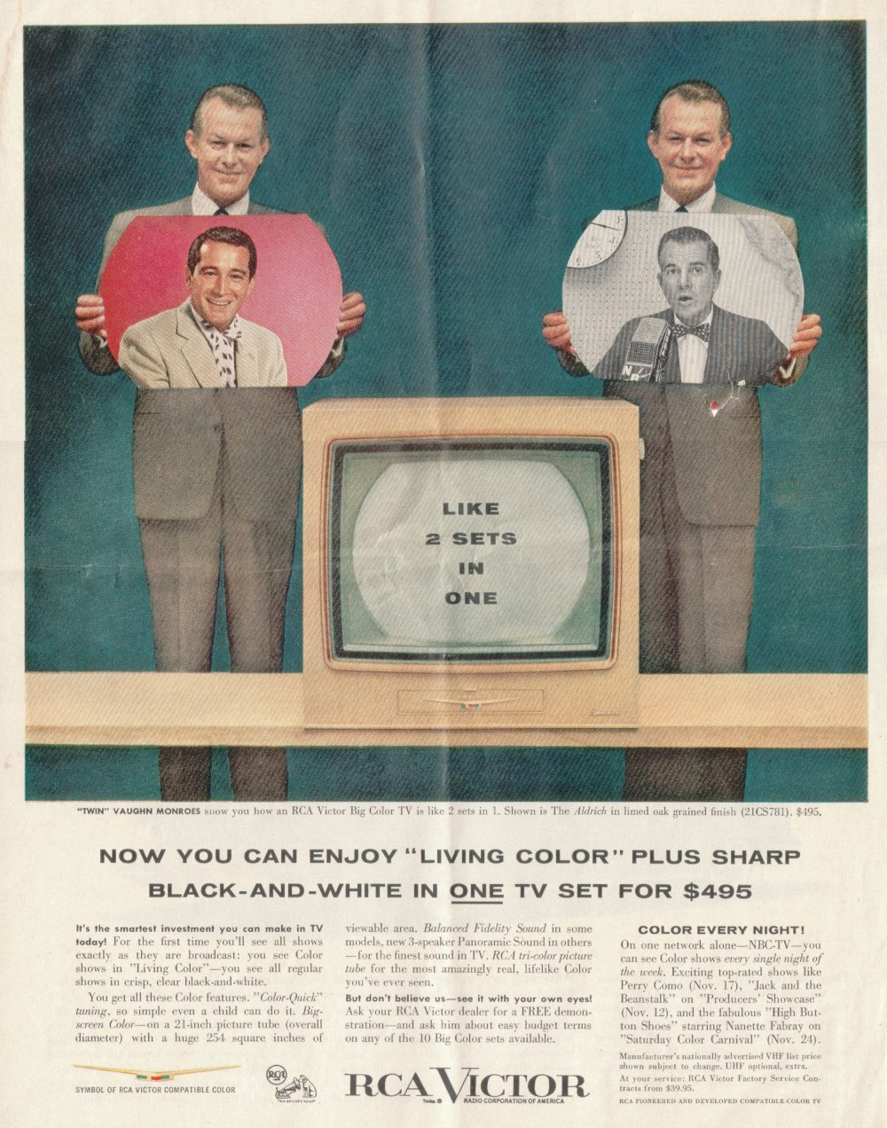 Documentation: RCA Color TV Set 21-CT-7855U<br>