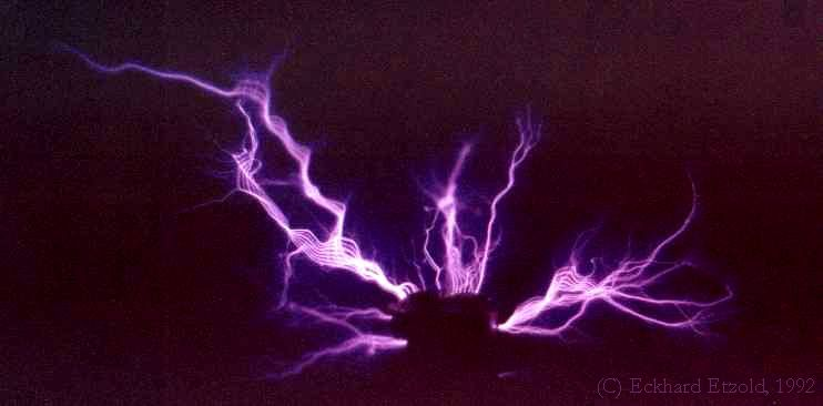 Electrical Corona Discharge : Corona discharge title